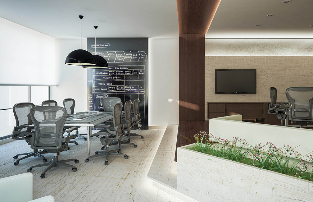 Knpc ceo office cipher architects for Office design hamra