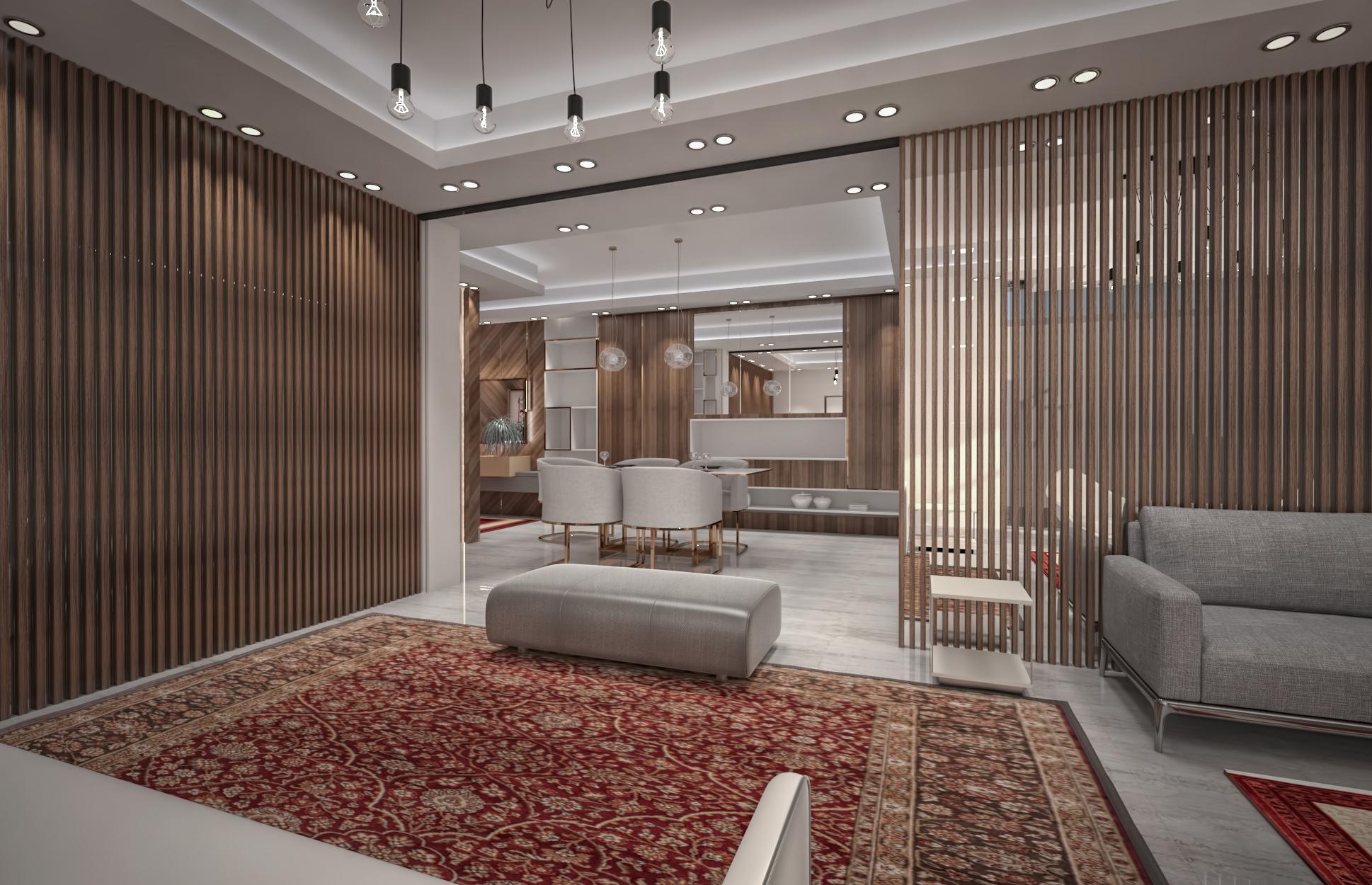 Maha Apartment Interior Design Cipher Architects